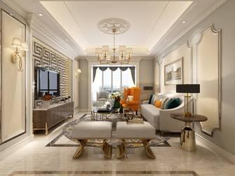 20万以上140平米复式新古典风格客厅装修图片大全