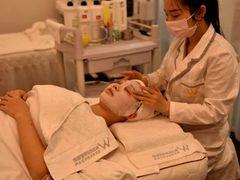 W韩国皮肤管理的图片