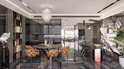 140平米四室三厅现代简约风格餐厅效果图