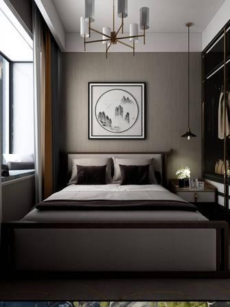 120平米四室四厅中式风格卧室装修效果图