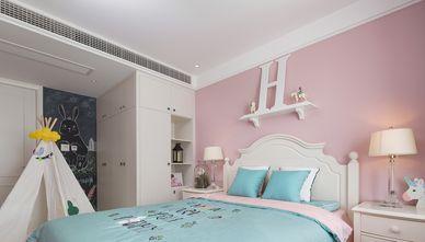 富裕型110平米一室一厅轻奢风格卧室欣赏图