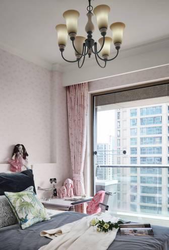 140平米四北欧风格卧室效果图
