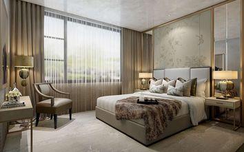 90平米三中式风格卧室装修案例