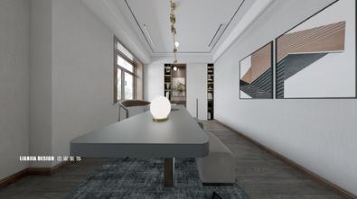 富裕型140平米别墅中式风格书房装修图片大全