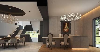 20万以上140平米别墅法式风格厨房装修图片大全