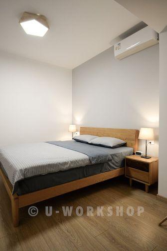 20万以上100平米三室两厅美式风格卧室图