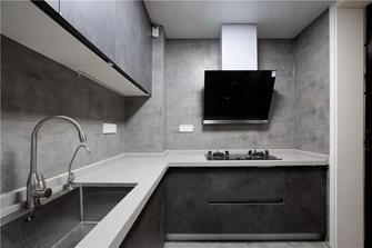 100平米三现代简约风格厨房图