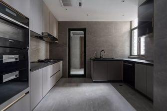 富裕型110平米三混搭风格厨房图