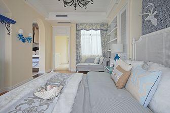 110平米三地中海风格卧室图片
