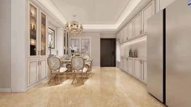 富裕型100平米三室两厅法式风格餐厅效果图