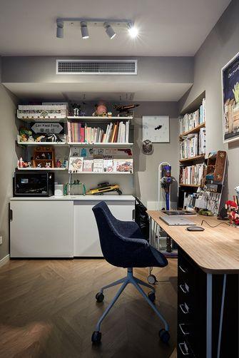 120平米三室两厅北欧风格书房欣赏图