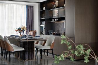 富裕型120平米四室一厅现代简约风格餐厅图片
