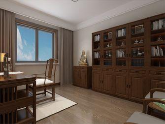 富裕型140平米四室两厅中式风格书房装修图片大全