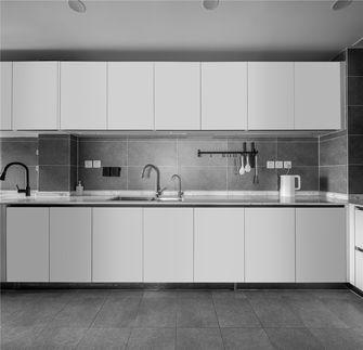 豪华型130平米四室两厅现代简约风格厨房图片大全