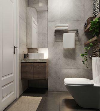 富裕型100平米三室一厅田园风格卫生间装修效果图