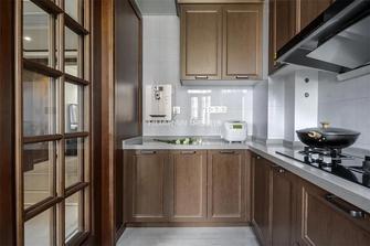 140平米四混搭风格厨房欣赏图