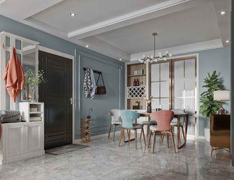 10-15万120平米三室两厅田园风格餐厅图