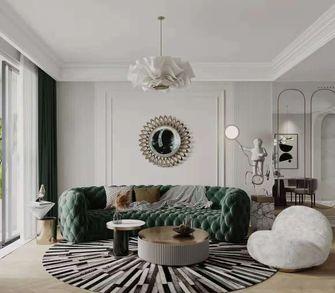 5-10万90平米法式风格客厅装修效果图