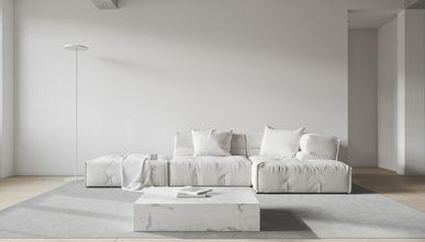豪华型130平米四室两厅现代简约风格客厅效果图