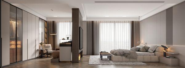 豪华型140平米别墅工业风风格卧室装修图片大全
