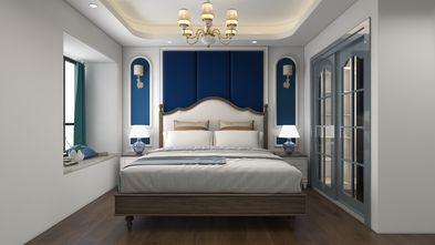富裕型140平米三室两厅地中海风格卧室图片