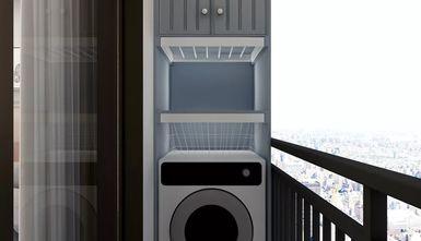 富裕型60平米复式北欧风格阳台装修效果图