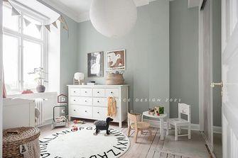 豪华型130平米四室两厅北欧风格卧室图片大全