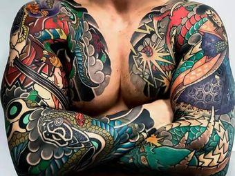 雲刺青专业纹身