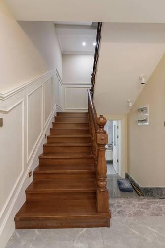 豪华型140平米别墅美式风格楼梯间欣赏图