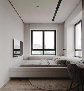 经济型100平米三室两厅北欧风格书房设计图