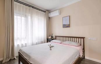 经济型110平米三室一厅北欧风格卧室装修图片大全
