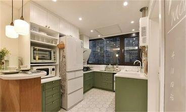 富裕型80平米三室一厅新古典风格厨房图片