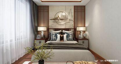 经济型140平米别墅中式风格卧室装修案例