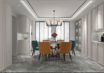 富裕型140平米三室五厅法式风格餐厅图片