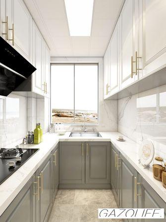10-15万70平米美式风格厨房装修效果图