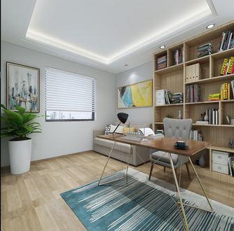 20万以上130平米三室两厅北欧风格书房装修效果图