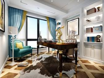 豪华型140平米美式风格书房图