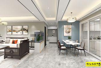 10-15万110平米三室两厅中式风格餐厅图片大全