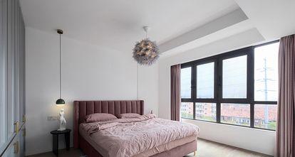 80平米一室一厅北欧风格卧室图片