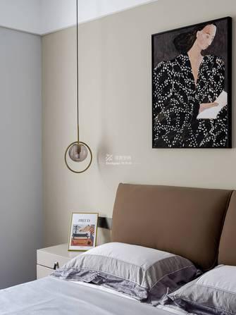 富裕型140平米四现代简约风格卧室欣赏图
