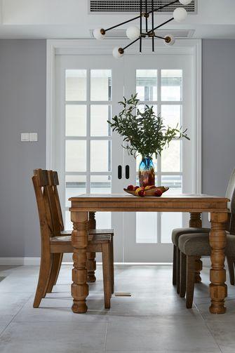 豪华型140平米别墅北欧风格餐厅图