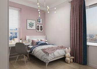 富裕型100平米三室两厅北欧风格卧室装修图片大全