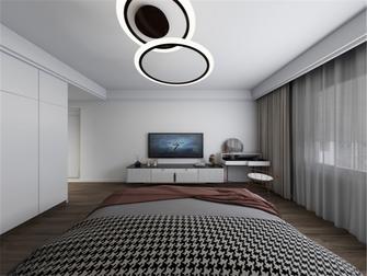 经济型100平米三室两厅轻奢风格卧室图片大全