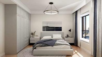 富裕型110平米三室两厅现代简约风格青少年房图片大全