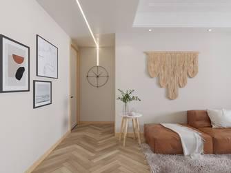5-10万120平米三室两厅北欧风格走廊图