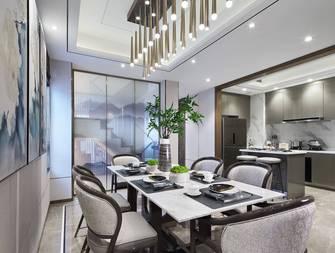 豪华型140平米四室三厅中式风格餐厅设计图