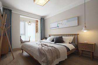 5-10万80平米一室两厅日式风格卧室装修图片大全