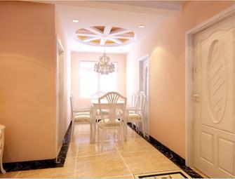 富裕型120平米三室三厅欧式风格餐厅设计图