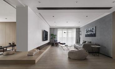 富裕型130平米三室三厅现代简约风格客厅图