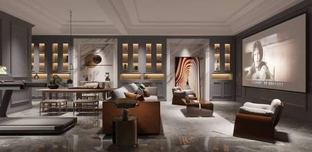 豪华型140平米别墅轻奢风格储藏室欣赏图